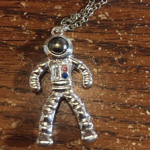 Spaceman Necklace